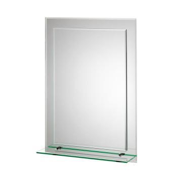 Croydex Devoke Rectangle Double Layer Mirror w/ Shelf  MM700300YW