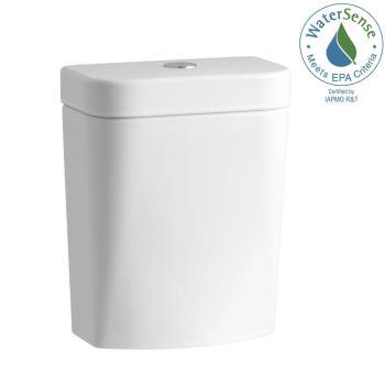 KOHLER Persuade Circ 1.0 or 1.6 GPF Dual Flush Toilet Tank in White K-4442-0