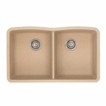 Blanco Diamond Undermount Granite Kitchen Sink 441223 Biscotti