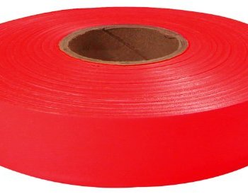 Empire 1″ x 600′ Red Flagging Tape 77-067 (12-Pack)