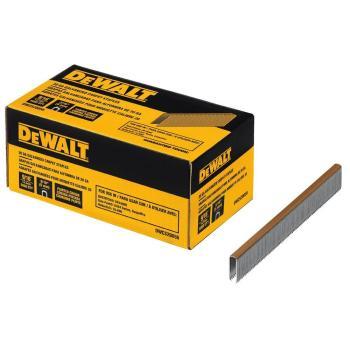 DEWALT 20-Gauge 9/16 in. L Galvanized Carpet Staples 5,000 Staples DWCS20056