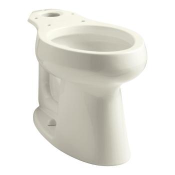 KOHLER Highline Elongated Toilet Bowl Only in Biscuit K-5297-96