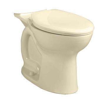 American Standard Cadet Pro 1.6 GPF Elongated Toilet Bowl in Bone 3517A.101.021