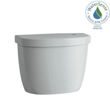 KOHLER Cimarron Touchless 1.28GPF Single Flush Toilet Tank in Ice Grey K-5693-95