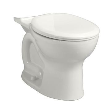 American Standard Cadet Pro 1.6 GPF Round Toilet Bowl in White 3517B101.020