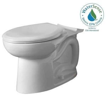 American Standard Cadet 3 FloWise Elongated Toilet Bowl in White 3717A.001.020