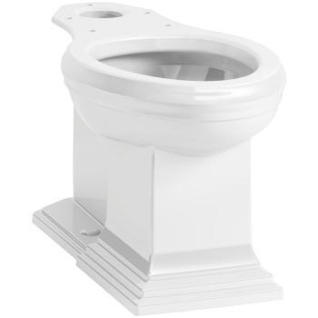 KOHLER Memoirs Elongated Toilet Bowl Only in White K-5626-0