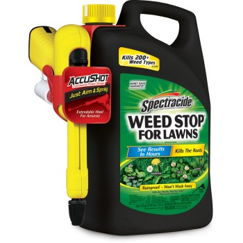 Spectracide Weed Stop For Lawns AccuShot Sprayer 1.3-Gallon Weed Killer HG-96416