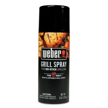 Weber Grill 'N Spray for No-Stick Grilling 6 oz. (2-Pack)