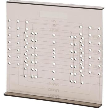 Liberty Align Right Large Cabinet Hardware Installation Template AN6516C-CL-U