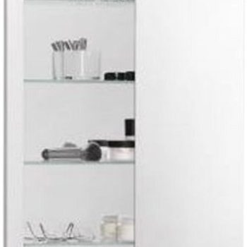"Robern R3 Series 20""x36""x4"" Single Door Polished Edge Cabinet RC2036D4FP1"