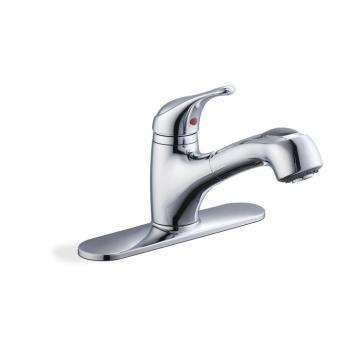 Glacier Bay Carla Single-Handle Pull-Out Sprayer Kitchen Faucet in Chrome