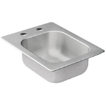 Moen KG2045522 Single Basin Drop-In Steel Kitchen Sink Stainless Steel