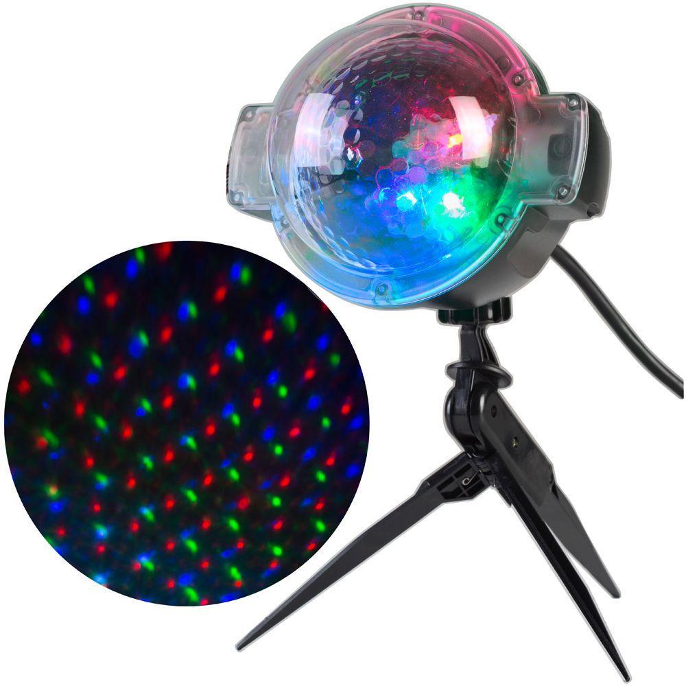 APPLights LED Sparkling Stars-61 Programs Spot Light Projector 49658