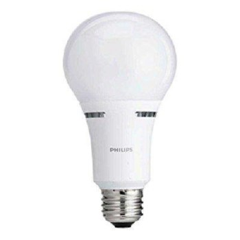 Philips LED 3-Way Light Bulb A21 Soft White 50/100/150 Watt Equivalent BC22A21