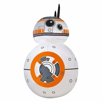 Disney Star Wars BB-8 Airblown Inflatable 42″ Lighted Christmas Decoration 3.5′