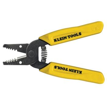 Klein Tools 6-1/4 in. Wire Stripper and Cutter for 10-18 AWG Solid Wire 11045