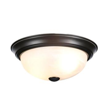 Designers Fountain Flushmount 11″ Small 2-Light Oil Rubbed Bronze Ceiling Light