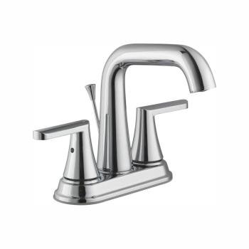 Glacier Bay Jax 4 in. Centerset High-Arc Bathroom Faucet in Chrome 67579W-6301