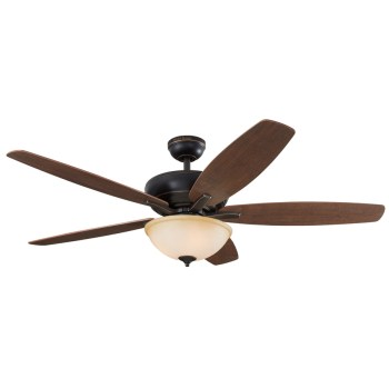 Harbor Breeze Aberly Cove 60″ Bronze Indoor Ceiling Fan with Remote Control