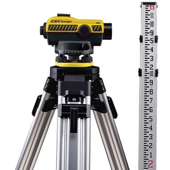 CST/Berger Standard Automatic Level Kit with 28x Magnification 55-SLVP28ND