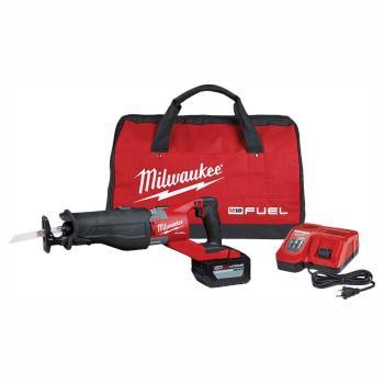 Milwaukee M18 FUEL 18-Volt Brushless SUPER SAWZALL Orbital Reciprocating Saw Kit