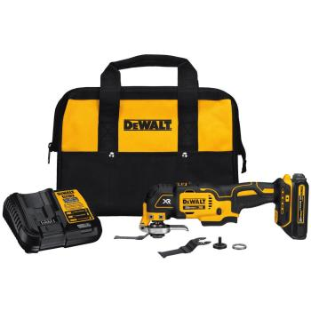 DEWALT 20-Volt MAX Lithium-Ion Oscillating Tool Kit w/ 20-Volt Battery 1.5Ah