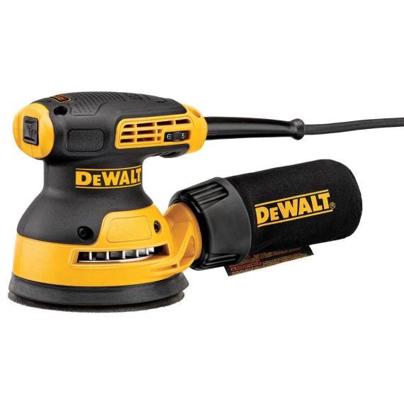DEWALT 3 Amp Corded 5 in. Variable Speed Random Orbital Sander DWE6423K