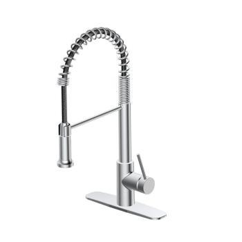 GB Lemist Single-Handle Spring Pull-Down Sprayer Kitchen Faucet  FP4AF263CP