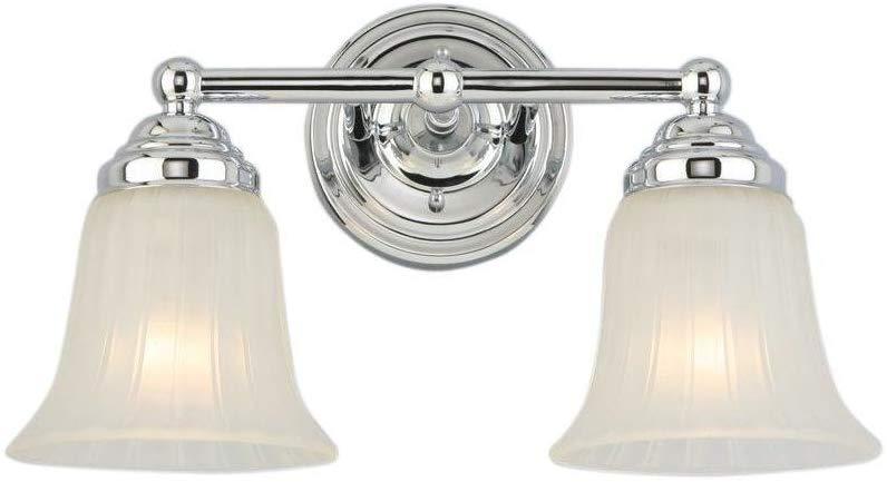Hampton Bay Cameron 2-Light Vanity Light ISR1392A-2