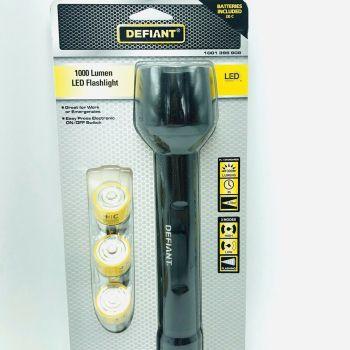 Defiant Flashlight 1000 Lumens LED 3 Modes 1001396908