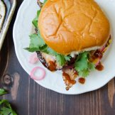 Tangy Barbecued Pork Sandwiches | Garlic + Zest