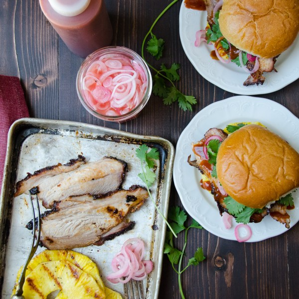 tangy barbecued pork sandwiches   Garlic + Zest