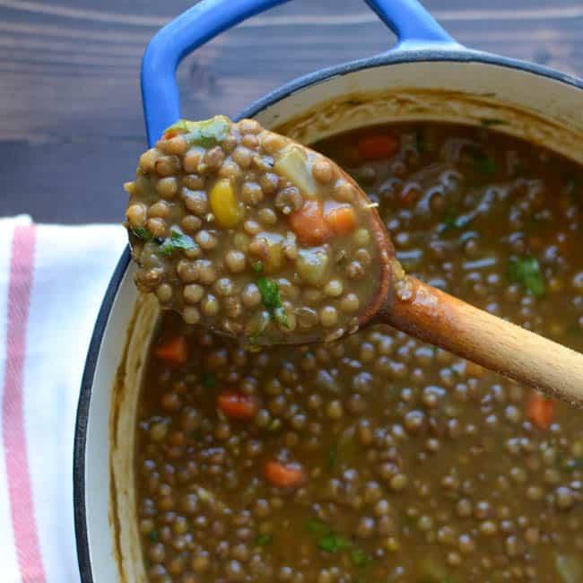 hearty lentil butternut soup-12