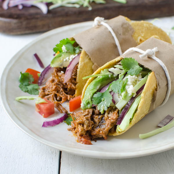 leftover braised pork tacos | Garlic + Zest