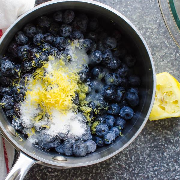 blueberry lemon almond crisp-4
