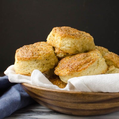 Parmesan Black Pepper Buttermilk Biscuits