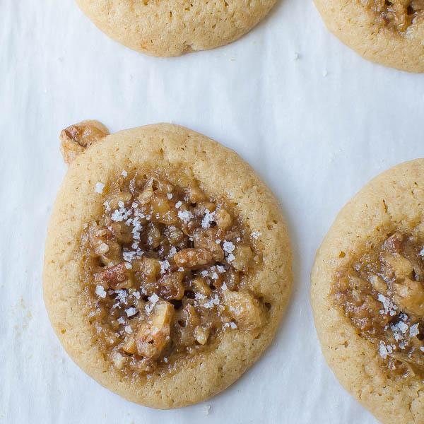 Sea Salt Bourbon Pecan Cookies | BlogHer
