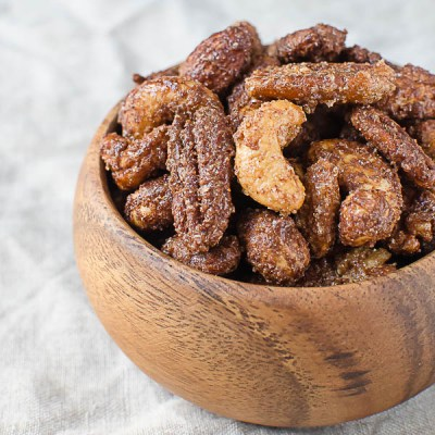 Mexican Hot Chocolate Spiced Nuts