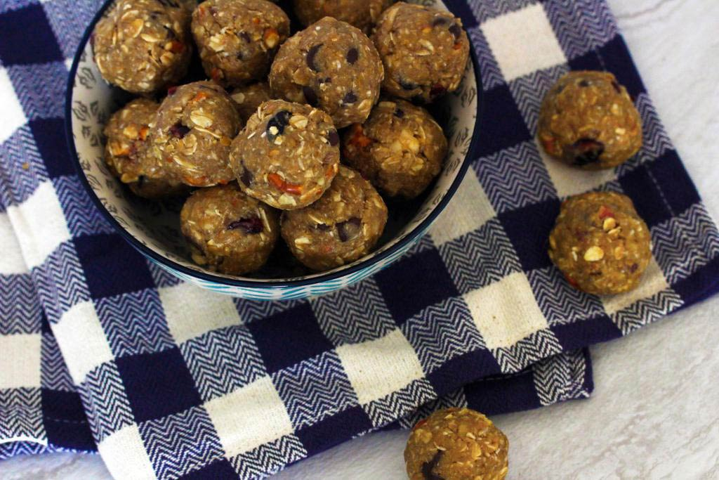 No Bake Sweet Salty Energy Bites
