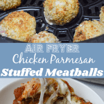 air fryer chicken parmesan meatballs pinterest
