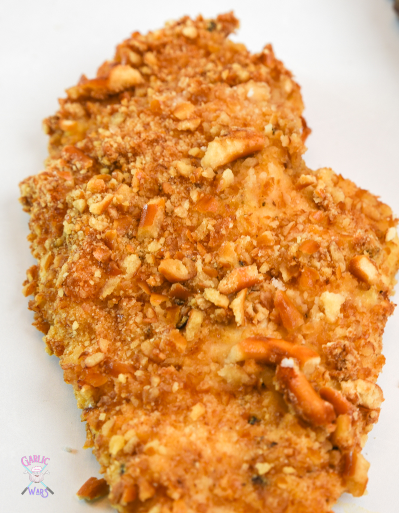 pretzel crusted chicken