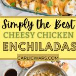chicken enchiladas for pinterest