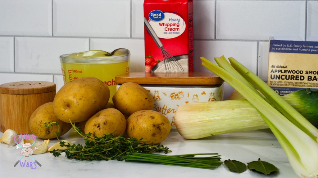 ingredients used in potato leek soup