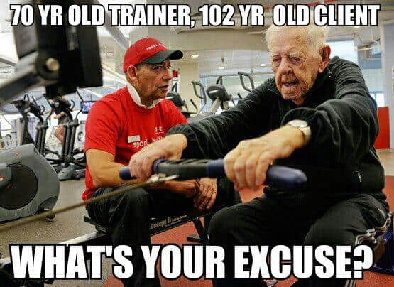 102 year-old still exercises