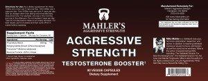Mike Mahler's Aggressive Strength formula