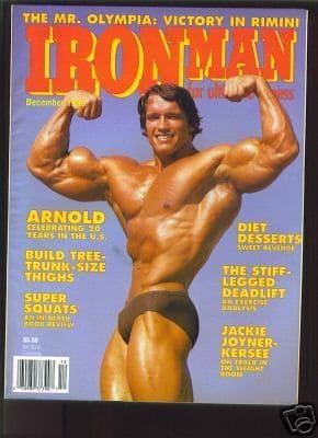 Arnold Schwarzenegger Muscle Mag Cover