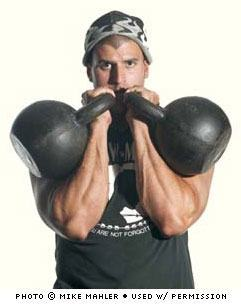 Mike Mahler, hormone and kettle bell expert