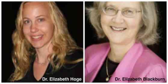 Elizabeth Blackburn and Elizabeth Hogue