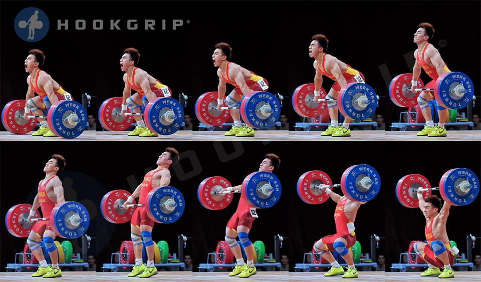 Lu Xiaojun Olympic snatch